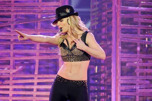 britney spears tour 2013